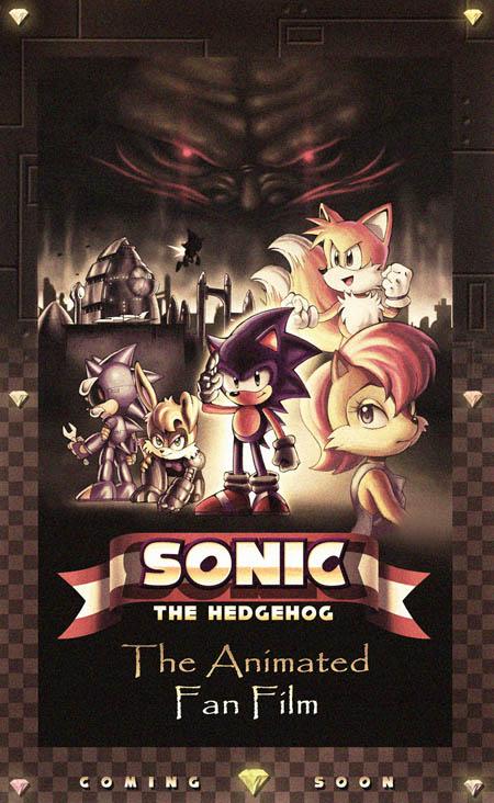 Sonic The Hedgehog The Animated Fan Film Poster Fan Film Follies