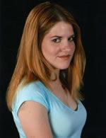 Tiffany Talent, who gives voice to Federation News Reporter Kelly Natukov
