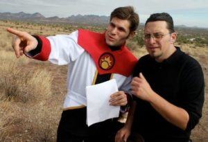 Adam Rini discusses shooting a scene with Voyage Trekkers writer/director Nathan Blackwell