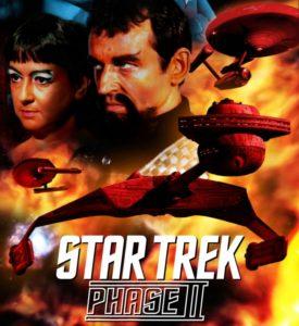 "Klingon Captain Kargh clashes with Starfleet Captain James Kirk during ""No Win Scenario"""