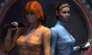 Captain Kara Carpenter and a Vulcan named T'Ling are the crew of the S