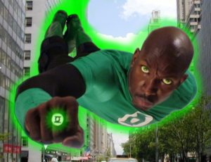 Green Lantern is back in action!