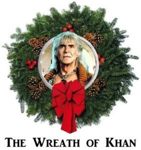 Even Khan is in the holiday spirit!