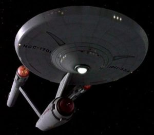 Sputnik is no match for the Enterprise as commanded by its captain president