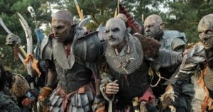 The Orcs are on a mysterious quest that pits them against the Rangers and other humans