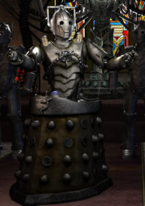 The Doctor faces a deadly new enemy when he encounters the CyberDalek