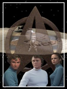 """Chief Tactical Officer Polim n'Ahman, Captain Alec Grigory and Science Officer Patricia Allen must solve the mystery of """"The Void"""