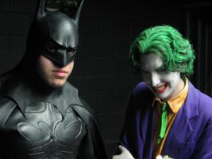 The Dark Knight and the Clown Prince of Crime take part in Indy's latest adventure