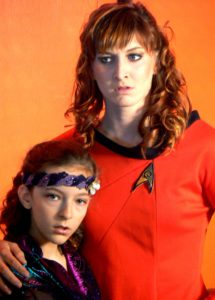 Ensign Isel fights to protect her child Irska from any danger from the rest of the Enteprise crew