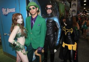 "Poison Ivy, the Riddler, Nightwing and Batgirl take part in the mystery of Batman: ""Death Wish"