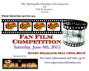 2013 Fan Film Competition Poster