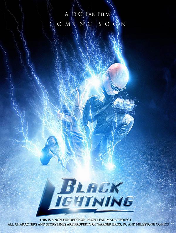 Black Lightning: Tobias's Revenge Poster